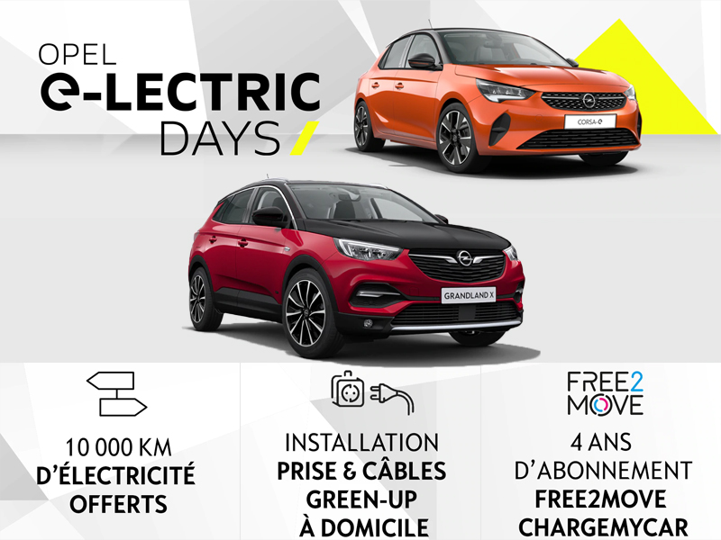 OPEL e-LECTRIC DAYS