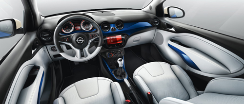 Opel adam affichez votre caract re for Opel adam s interieur